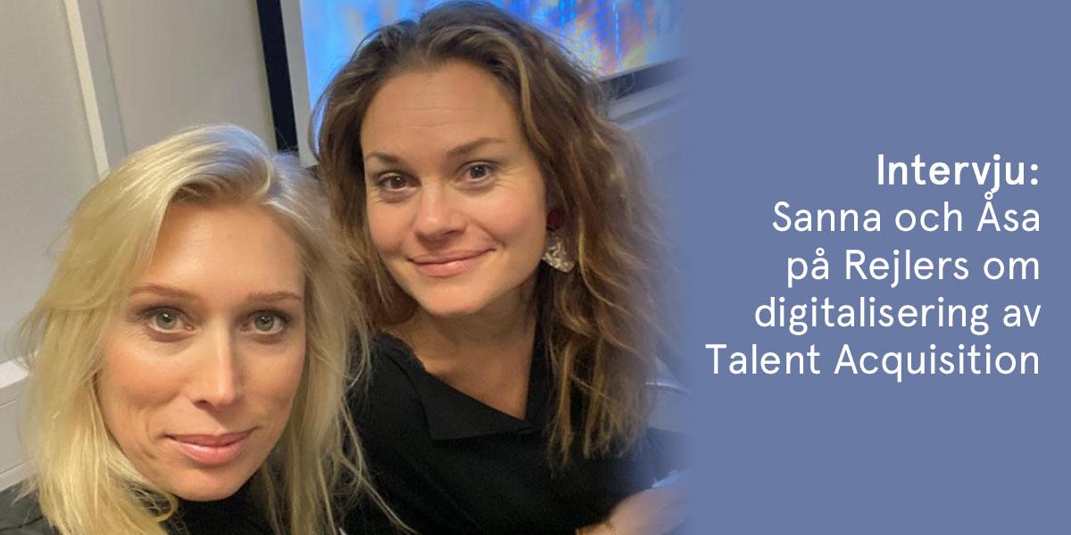 Digitalisering av talent acquisition på Rejlers